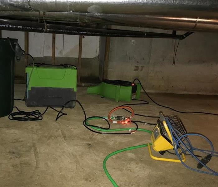 Crawlspace Cleaning and Remediation After