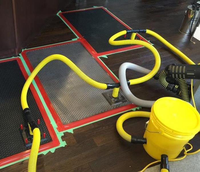 Wet Hardwood Floors? We Dry Those!