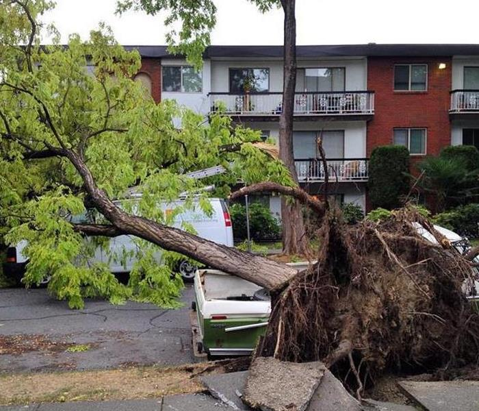 Storm Damage When Storms or Floods hit Langley, SERVPRO is ready!