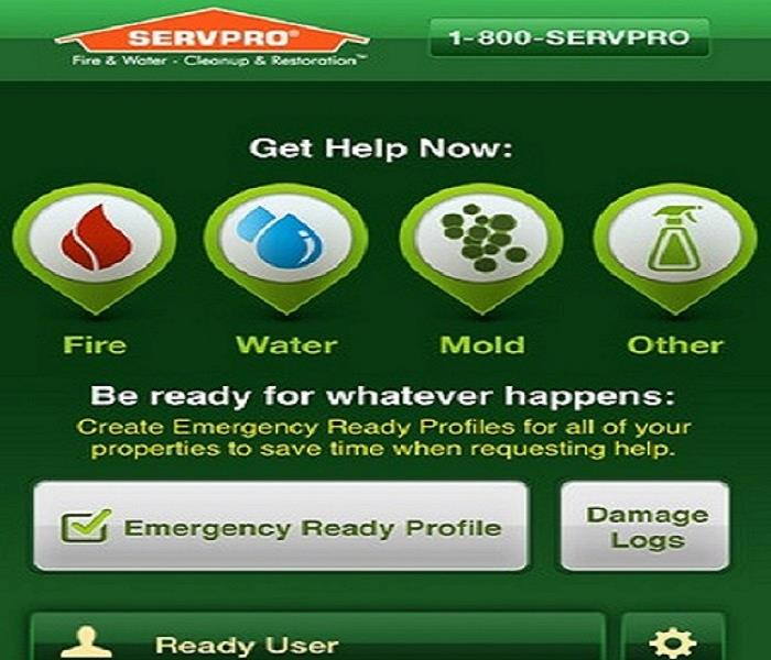 Building Services SERVPRO Ready Plan-Mobile App is available now